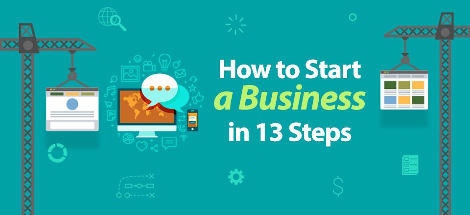 How to Start a Business in 13 Steps