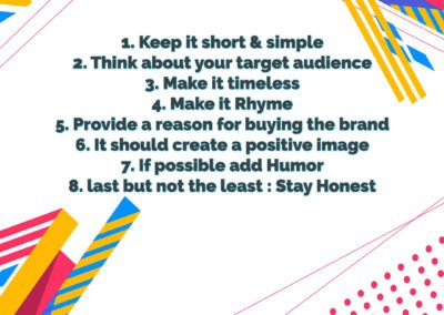 How to create a slogan for your Brand